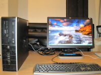 FAST PC HP Dual-Core 2.80GHz x 2.. 3gb ram. 19 inch widescreen LCD..WiFi . can deliver