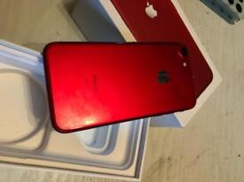 iPhone 7 / 128 gig / ee or virgin boxed 6 months old