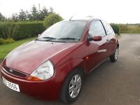 02 Ford KA with full MOT