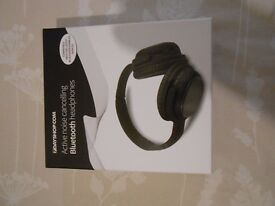 7dayshop Aero Freedom Active Noise Cancelling Bluetooth 4.1 Wireless Headphones with Mic - As new