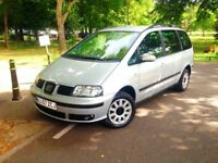 Only 49500 Mile Seat Alhambra 2008,Diesel Low Fully Service History,7 Seat,Excellent Engine gearBox