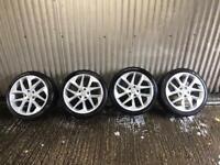 "18"" Seat Leon replica Alloy Wheels - 5x112 - will fit Volkswagen Golf, Audi A3 etc"