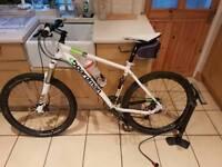 Boardman 18 inch adult mountain bike