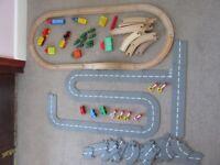 Road, Rails, Cars and Trains