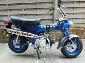 Honda ST70 monkey bike