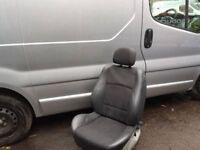 VIVARO TRAFIC PRIMASTAR drivers seat 💺 Original base cushion upgrade