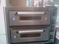 Ozex Dual Pizza Oven electric