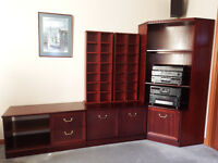 Morris of Glasgow Corner unit and low sideboards