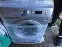 Indesit washing machine in silver