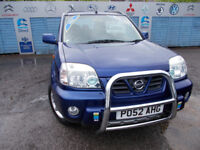 VERY CLEAN X TRAIL 4X4 2.2 TD SE FULL LEATHER, DRIVES A1 WITH NEW MOT, FULL SERVICE,WARRANTY !! ,