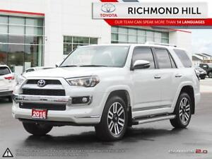 2016 Toyota 4Runner LIMITED|Navigation|Backup Camera|Heated seat