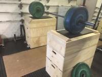 Jerk box or jerk boxes blocks
