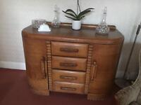 Oak 1930s dresser / sideboard / vintage