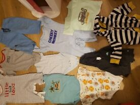 3-6months baby boy clothes.