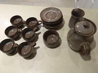 15 Piece Welsh Coffee Set