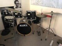 Complete Drum Kit by Mapex. High Quality and Cheap