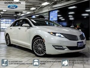 2013 Lincoln MKZ HYBRID LEATHER TECHNOLOGY PKG PANORAMIC NAVIGAT