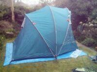 Regatta two man full height tent.