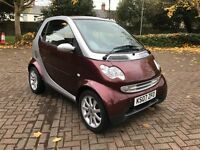Smart 0.7 City Passion 2007 Burgundy / Silver Automatic