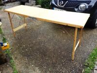 Paste Table or Carboot Table