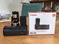 Canon Camera Battery Clip BG E8