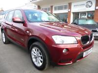 BMW X3 2.0 XDRIVE20D SE 5d 181 BHP (red) 2011