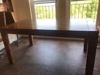 Great condition solid wood dwell dining table
