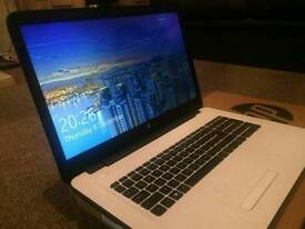 """Hp 17"""" laptop as new"""