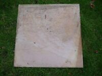 Polished stone slabs 39 x 29cm square - that were bought but not needed + larger one great condition