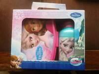 Disney Frozen lunch box set x 2