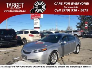 2012 Acura TL Fully Loaded;Leather,Roof,Drives Great and More!!
