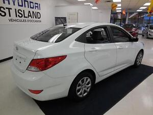 2012 Hyundai Accent GL 1.6L Berline/Sedan 39$/semaine West Island Greater Montréal image 7