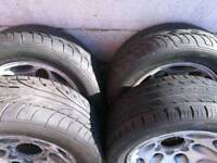 Tyres 225x55x16 on alloys Tyres are in excellent condition