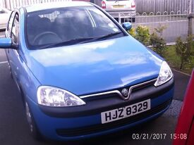 2003 corsa 973cc 3 cylinder eco engine