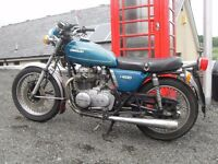 WANTED CLASSIC AND VINTAGE MOTORCYCLES