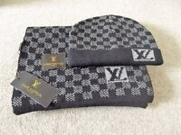 Louis Vuitton Design Hat and Scarf