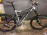 Cube stereo 160HPA full suspension mountain bike