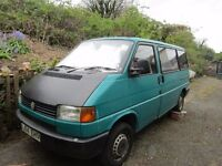 VW Transporter 1781cc 1990 petrol, spares or repairs