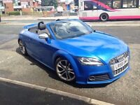 Audi tts convertible 1 owner not rs3/rs4/s3/m3/q7/x5/s4/s5/gti/r32/vxr/st/bmw/ford/volkswagen/fr