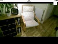 Ikea poang arm chair in excellent condition