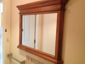 MIRROR solid wood STUNNING QUALITY ITEM great condition PORTRUSH AREA unique design