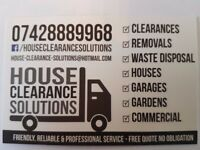 MAN WITH A VAN SERVICE ** FRIENDLY, PROFESSIONAL & RELIABLE ** HOUSE REMOVALS & WASTE CLEARANCE **