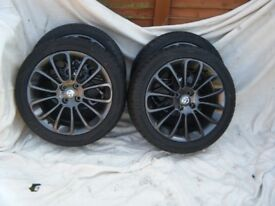 "Vauxhall 17"" Alloy Wheels and Tyres"