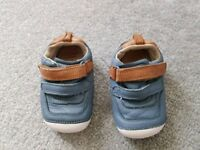 Clarks baby toddler shoes 4H