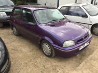 Rover 100 metro spares or repairs only 32k miles