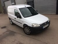 2007 Vauxhall Combo 1.7Cdti in White, Ready for Work!