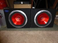 Pair of Sony Xplod Subs