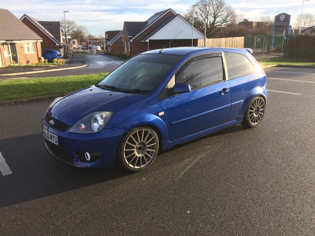 ford fiesta st 150 blue modified really good example in telford shropshire gumtree