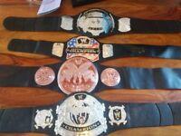 Childs wrestling belts