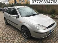 2003 Ford Focus 1.6 i ELLE 3dr # 1 YEARS MOT # Leather Seats # Cheap Insurerence #